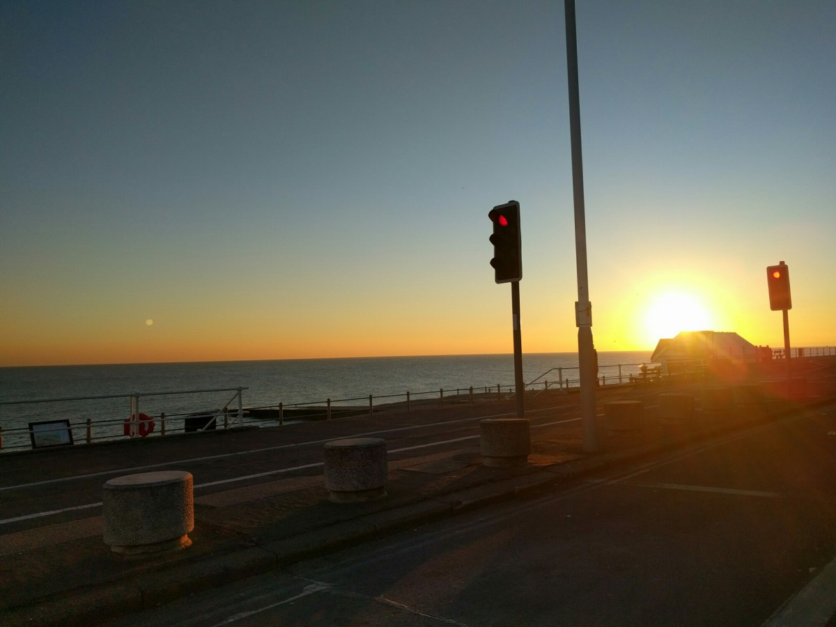Beautiful Brighton – The start of the solo journey.