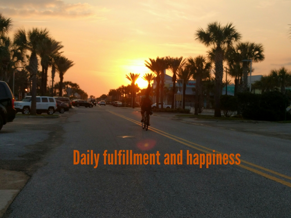The path to fulfillment and happiness